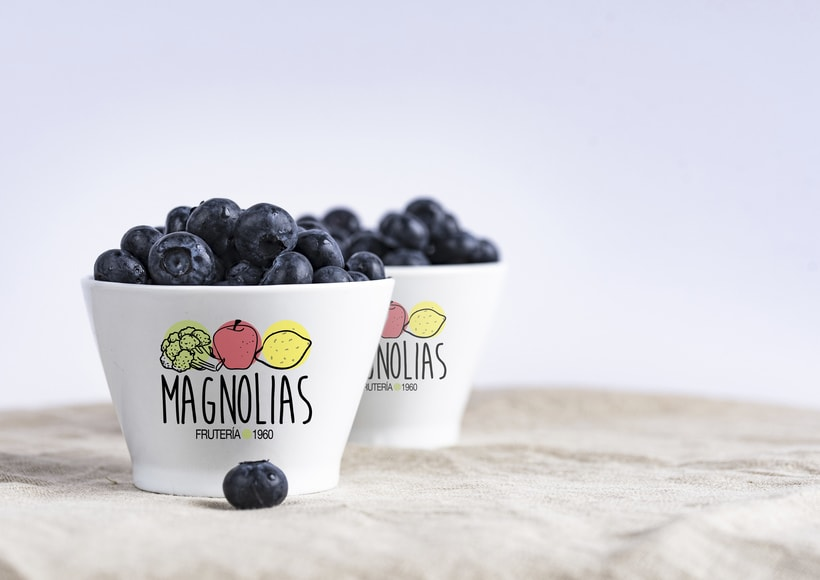 Logotipo para frutería 2