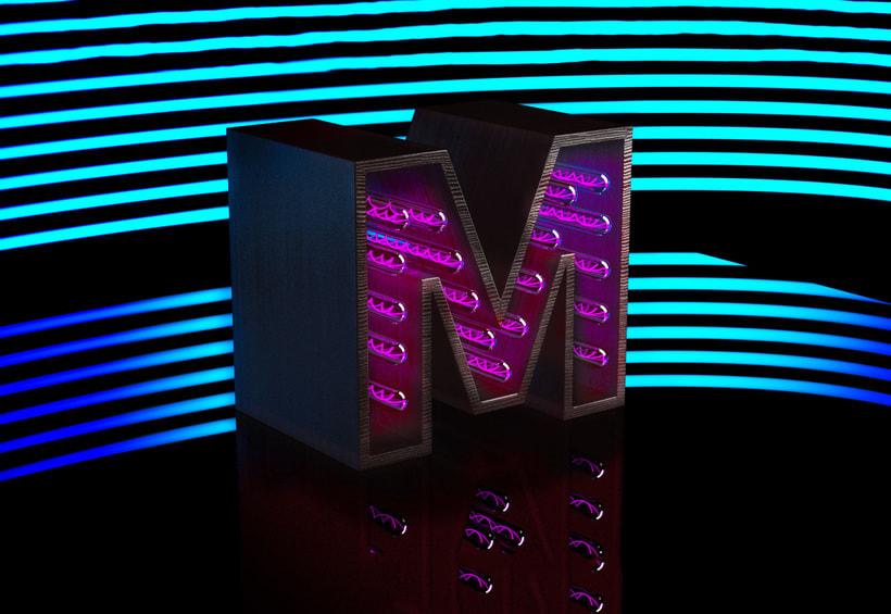 Mi Proyecto del curso: Lettering 3D: modelado y texturizado con Cinema 4D 7