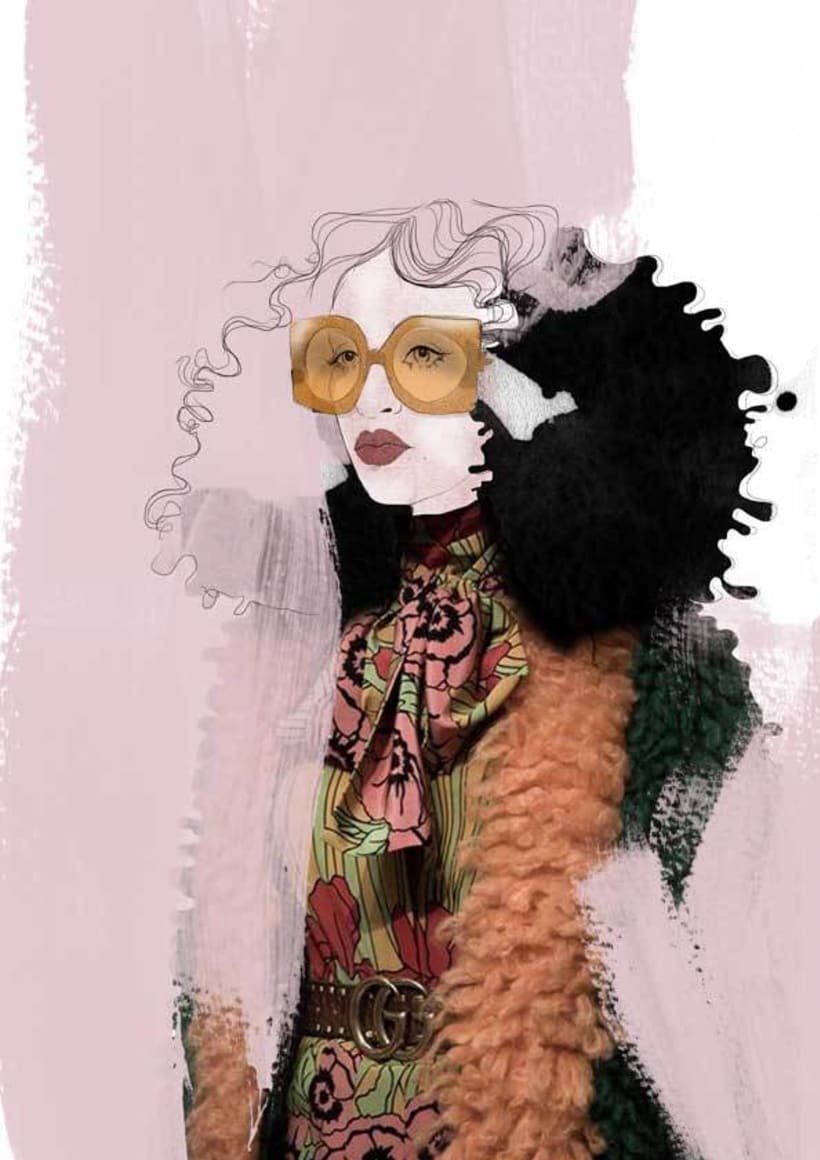 Gucci illustrations 0