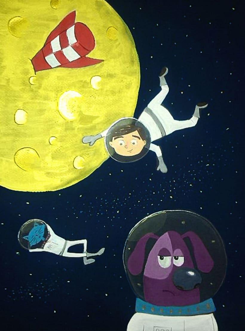 En Mario a l'espai -1
