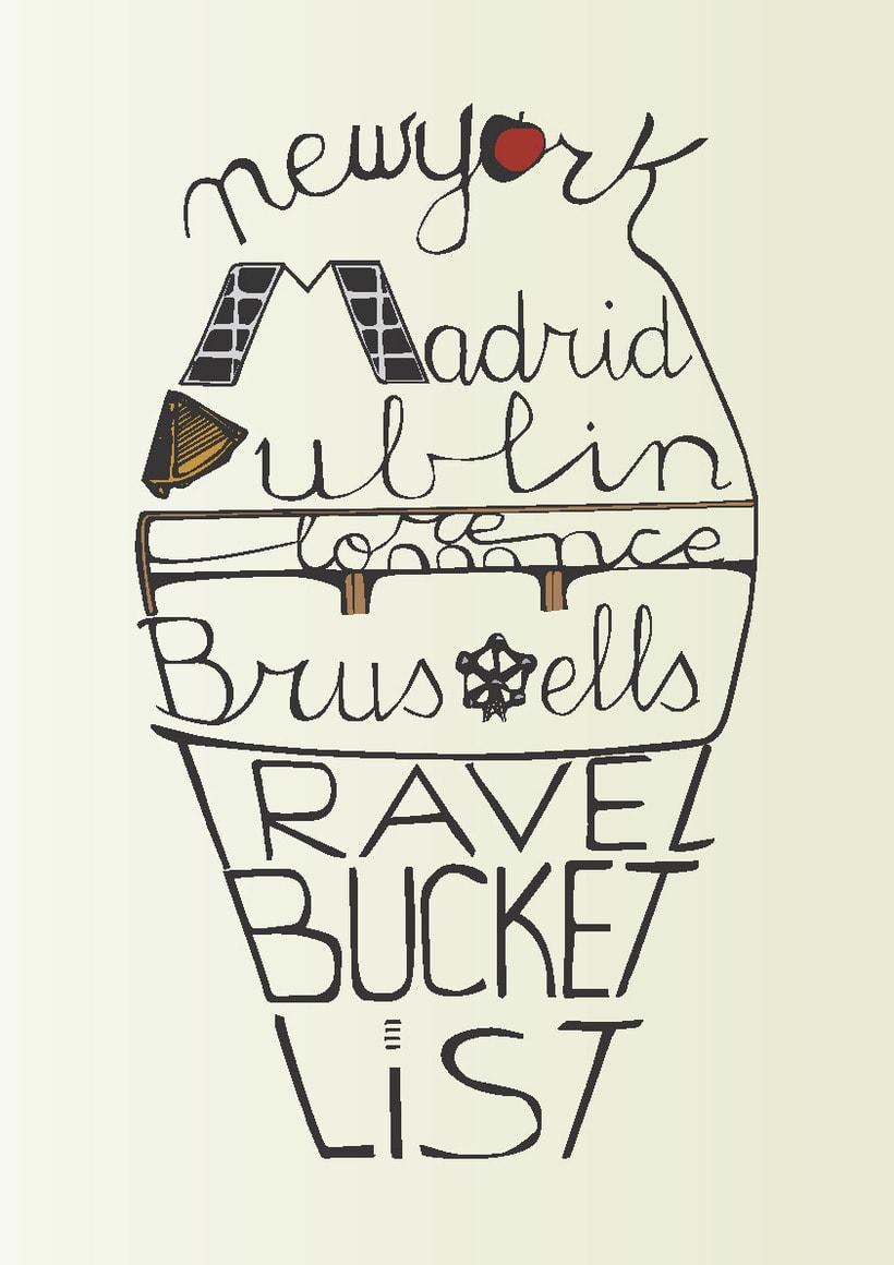 Travel Bucket List Lettering -1