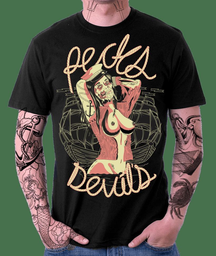 Captain Zombie - Recks Devil's 11