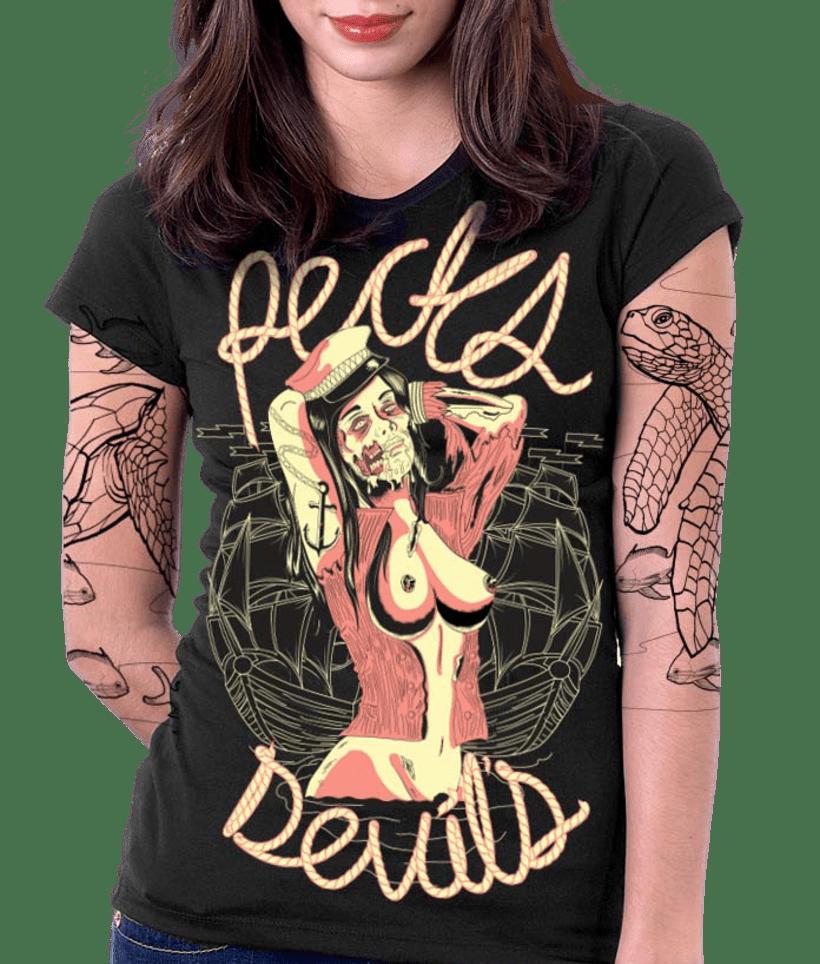 Captain Zombie - Recks Devil's 12
