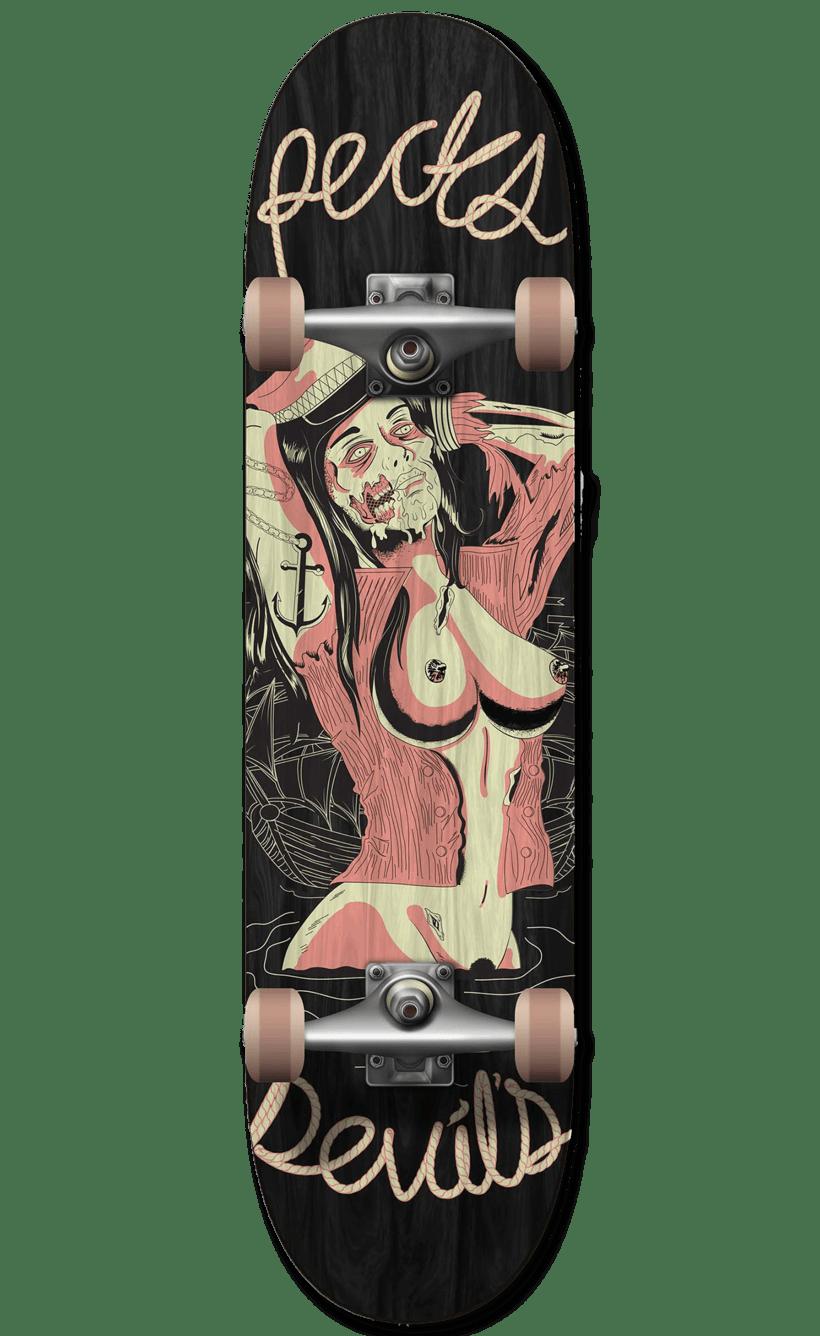 Captain Zombie - Recks Devil's 14