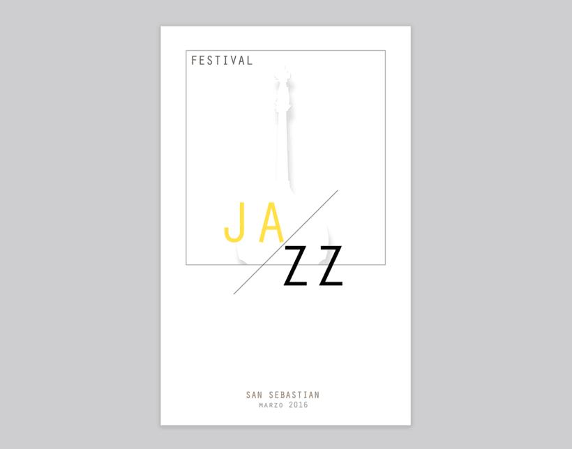 Carteles festival de Jazz en San Sebastián -1