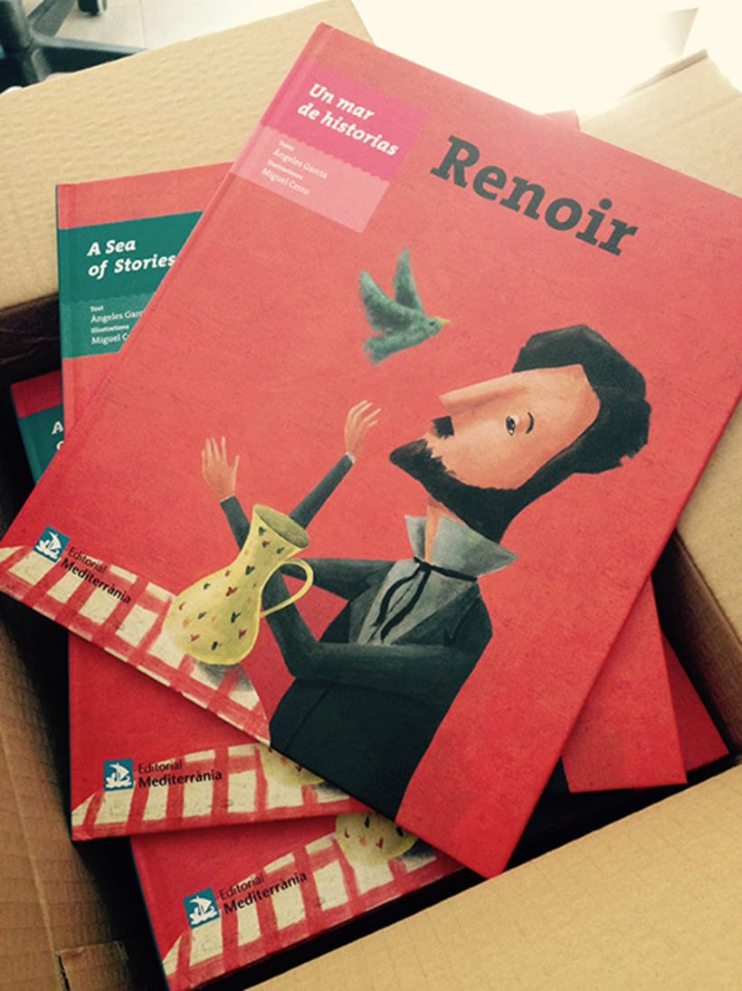Renoir, libro ilustrado 2016 -1
