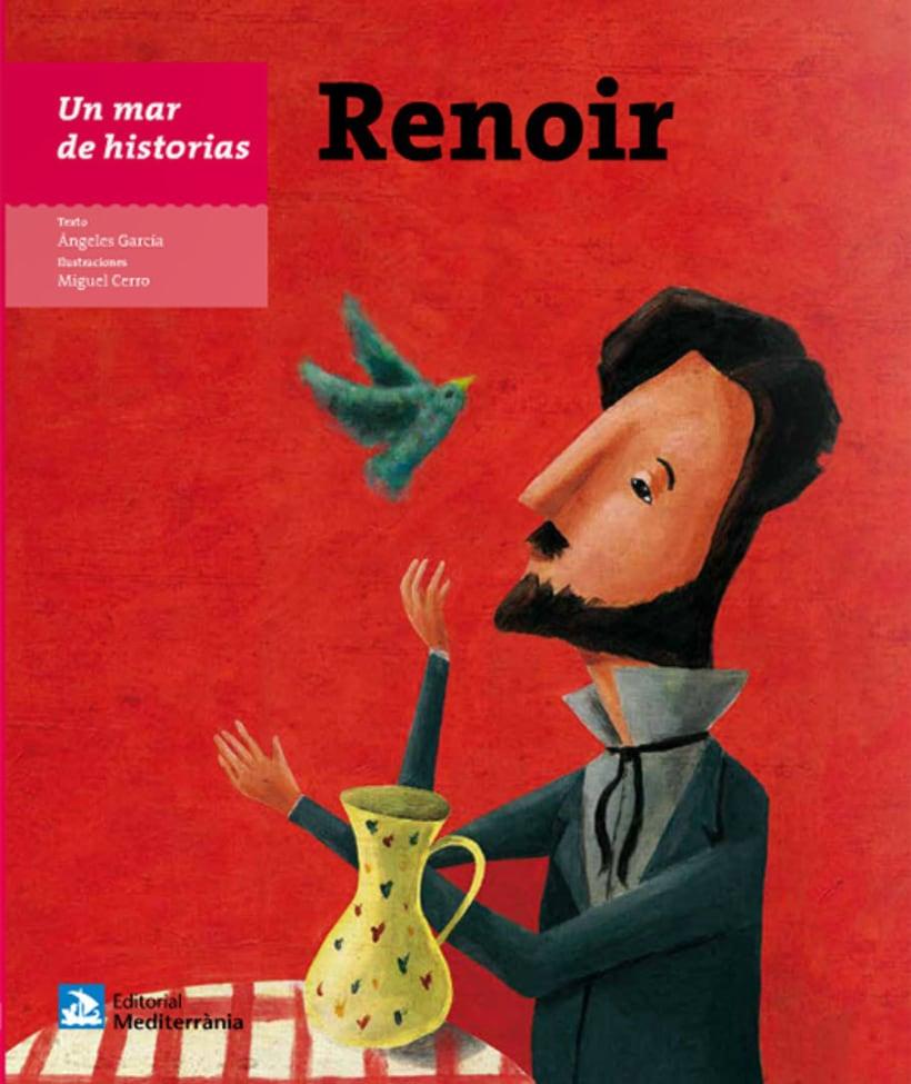 Renoir, libro ilustrado 2016 0