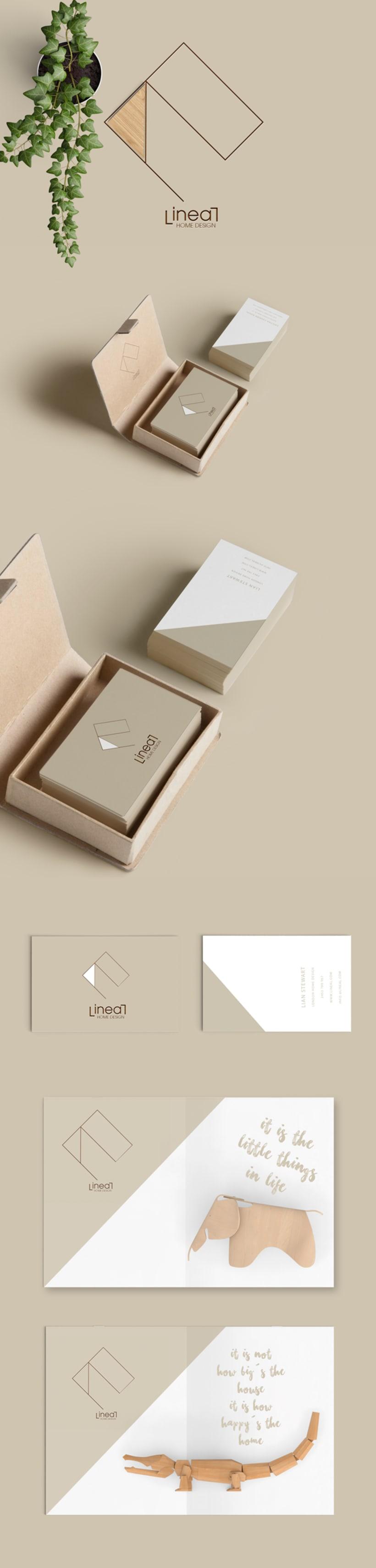 """Lineal"" home design. Identidad Corporativa -1"