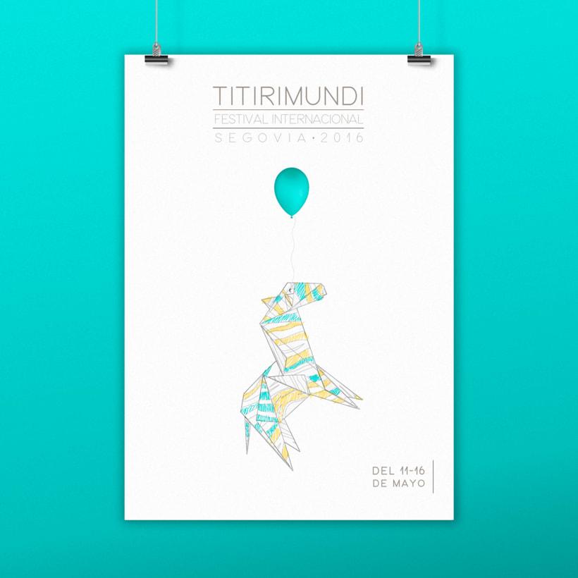 "Poster Festival Internacional  ""Titirimundi"" -1"