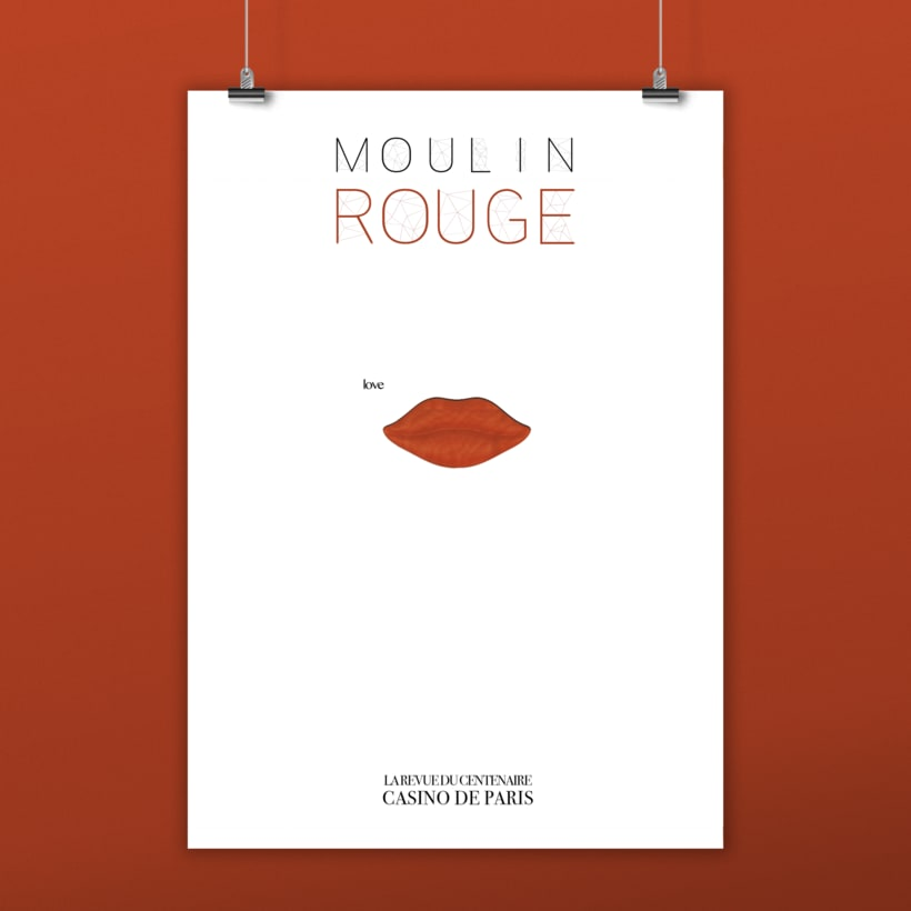 "Cartel Musical ""Moulin Rouge"" Casino de Paris. -1"
