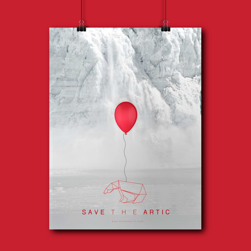 """Cartel """"Save the Artic"""" -1"""