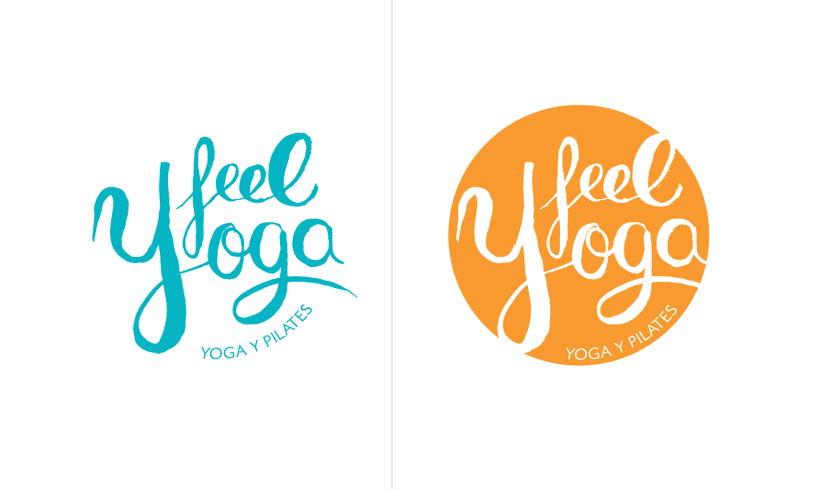 Feel Yoga - Branding design for yoga studio 2