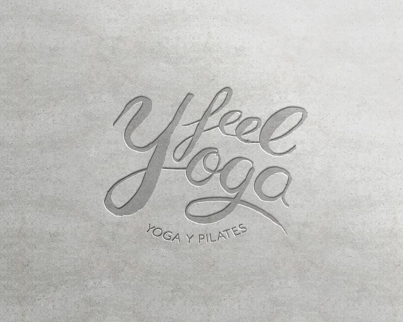Feel Yoga - Branding design for yoga studio 5