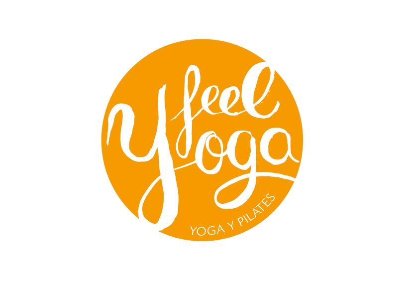 Feel Yoga - Branding design for yoga studio 3