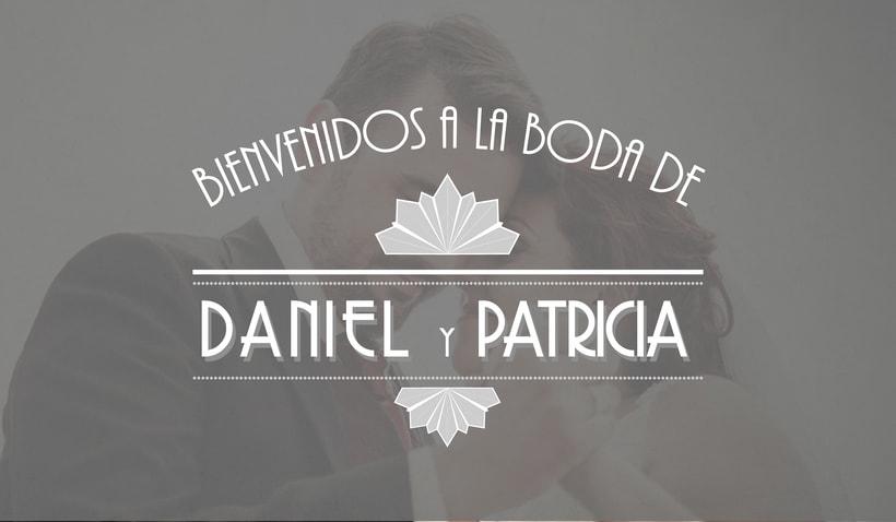 Branding Boda Daniel y Patricia 0