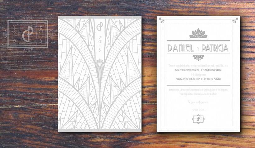 Branding Boda Daniel y Patricia 2