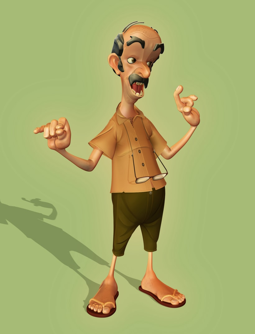 Personajes 3d cartoon 2