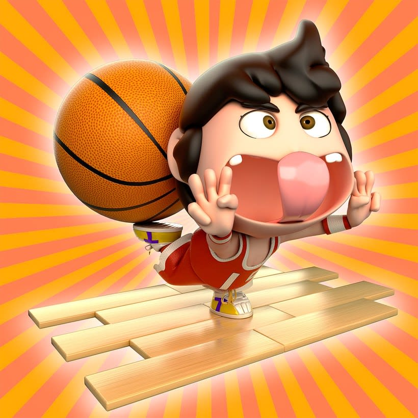 Personajes 3d cartoon 5