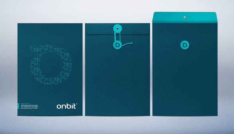 Diseño de Marca Para Onbit - Tecnologías de la Información 8