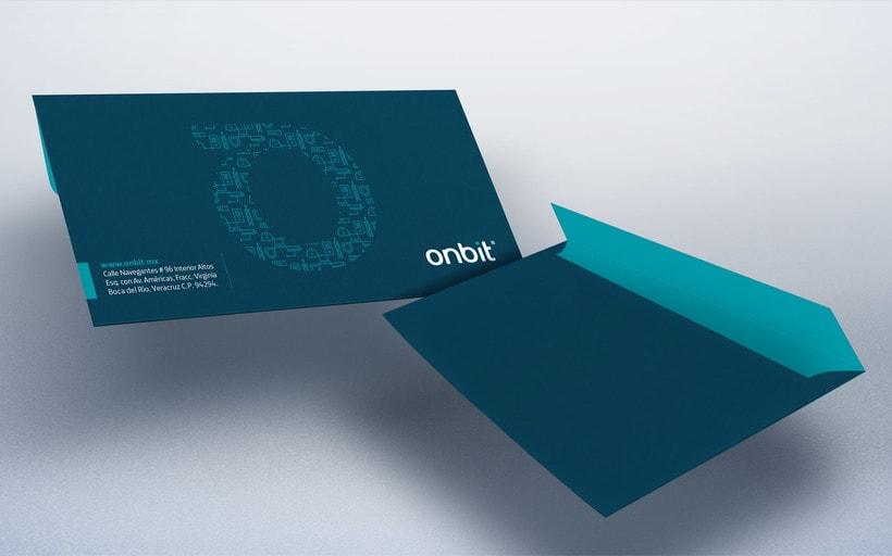 Diseño de Marca Para Onbit - Tecnologías de la Información 9