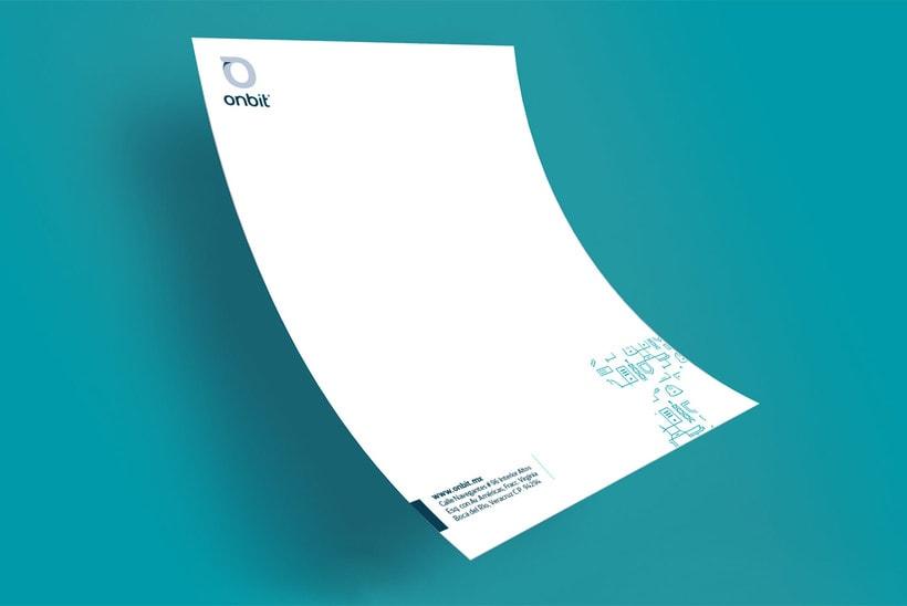 Diseño de Marca Para Onbit - Tecnologías de la Información 10