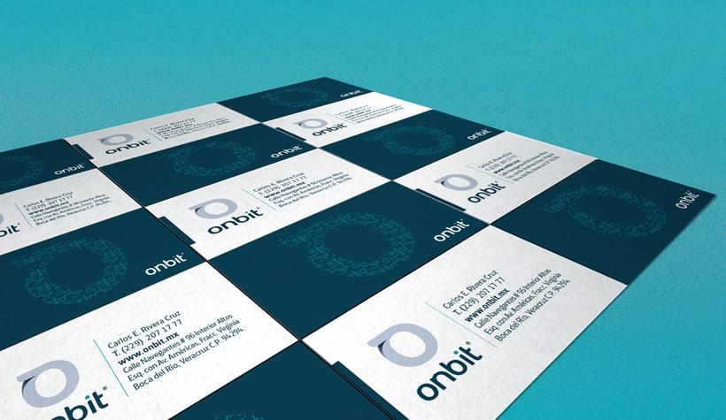 Diseño de Marca Para Onbit - Tecnologías de la Información 12