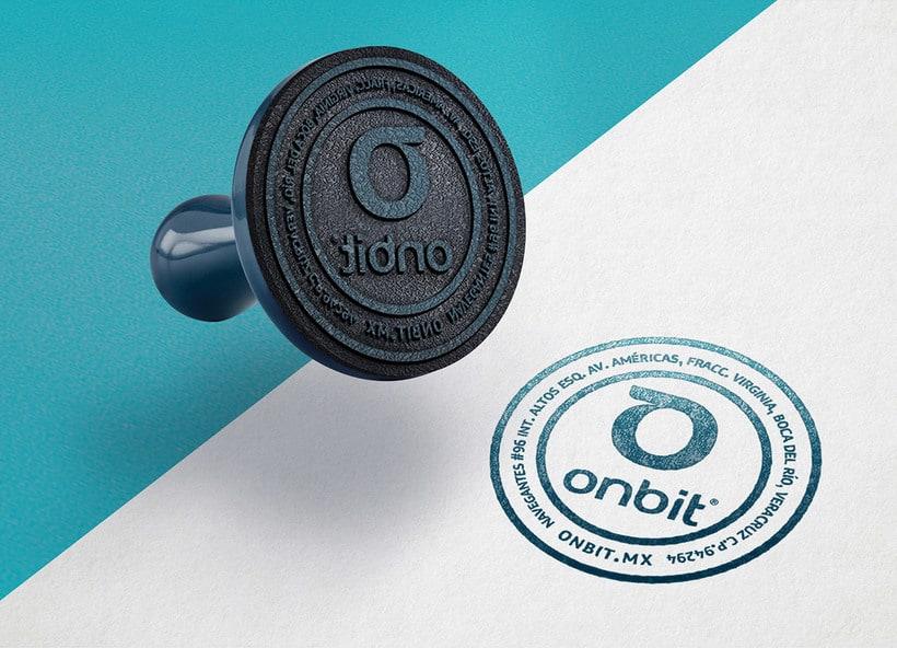 Diseño de Marca Para Onbit - Tecnologías de la Información 11