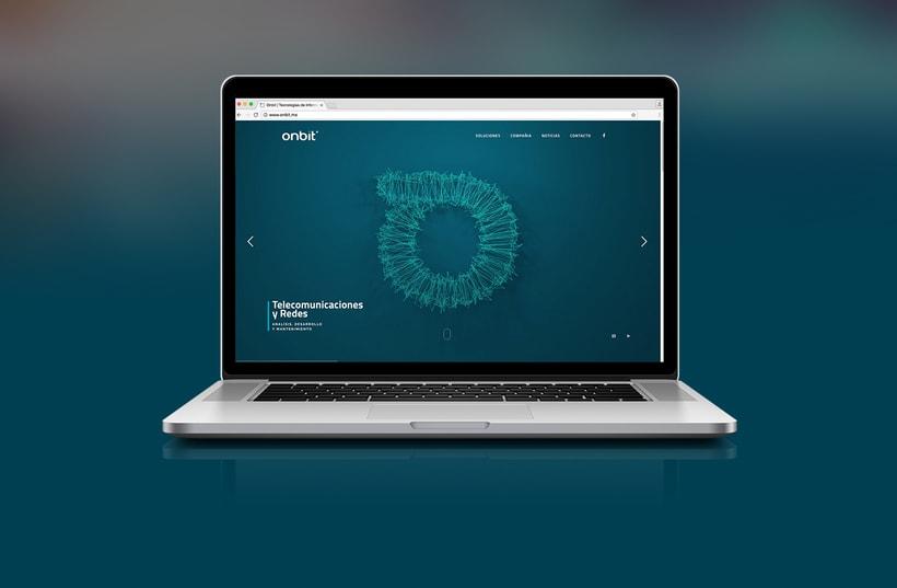 Diseño de Marca Para Onbit - Tecnologías de la Información 20
