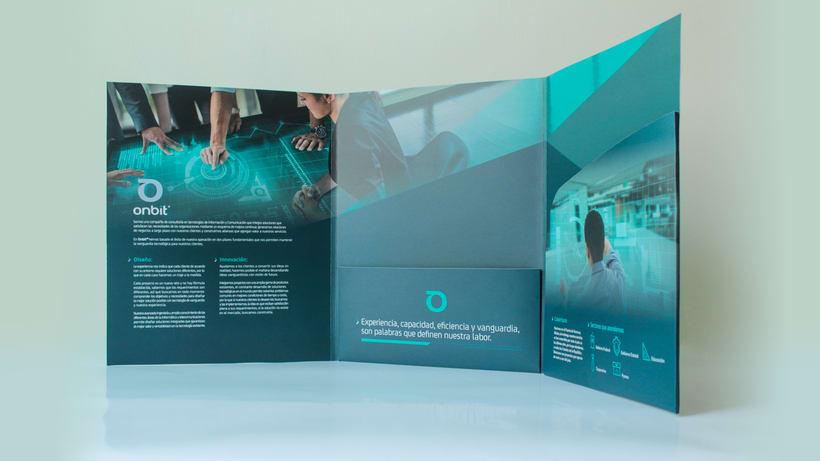Diseño de Marca Para Onbit - Tecnologías de la Información 23