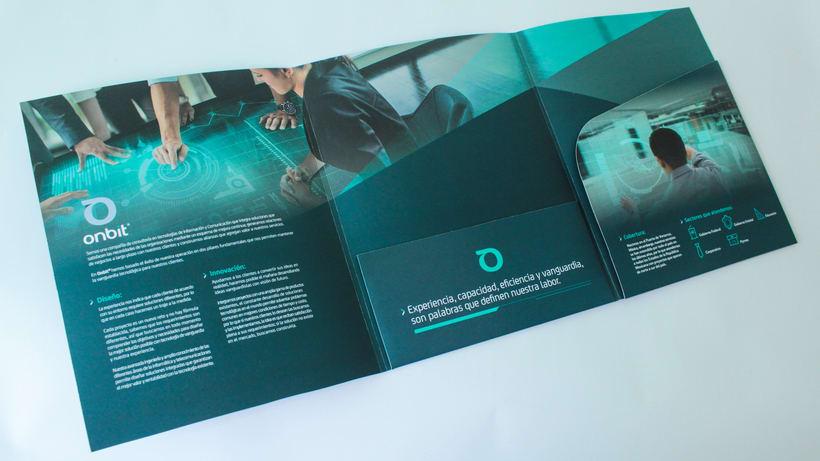 Diseño de Marca Para Onbit - Tecnologías de la Información 24