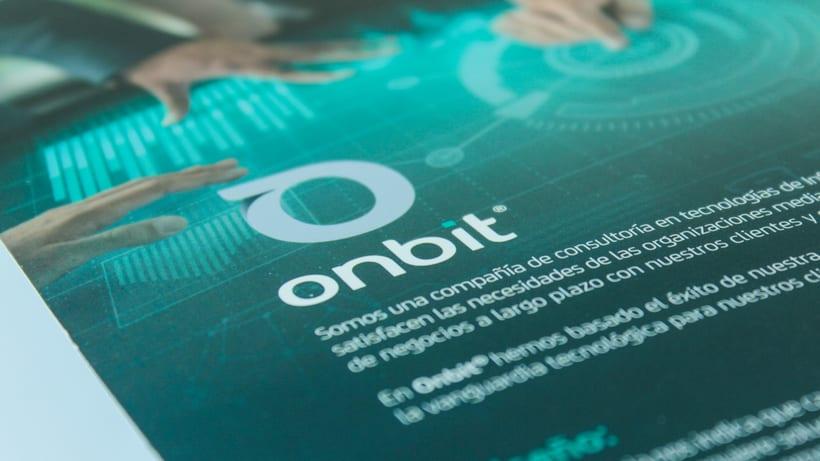 Diseño de Marca Para Onbit - Tecnologías de la Información 25