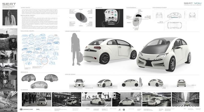 SEAT VOU. Nuevos Conceptos de Movilidad Turística en la Ciudad del S.XXI 2