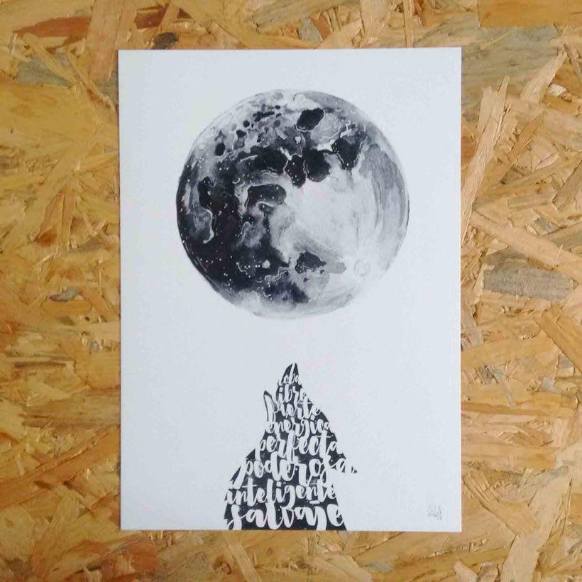 Luna y loba 0