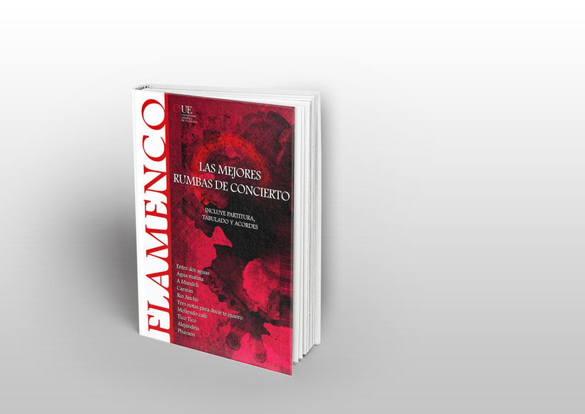 """Portada de """"Flamenco: Las mejores rumbas de concierto"""" -1"""