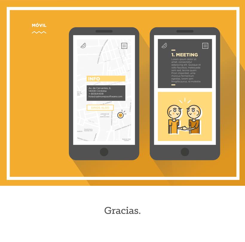 Diseño web para Salmorejo Software 5