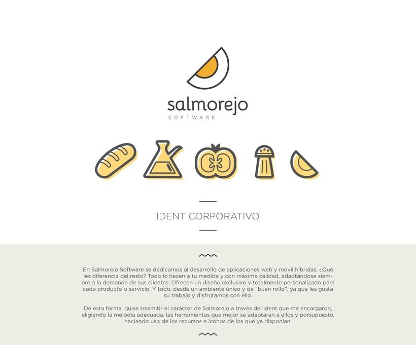 Ident corporativo para salmorejo software 0