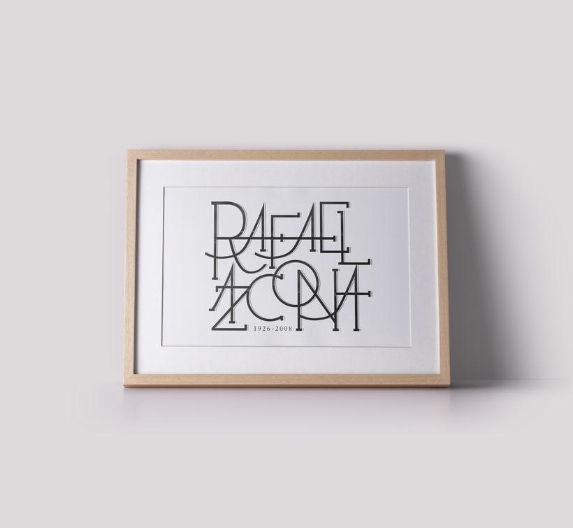 Lettering | Rafael Azcona | 1