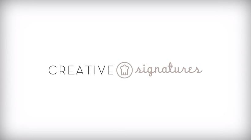 Creative Signatures (Cursos profesionales de cocina) 0