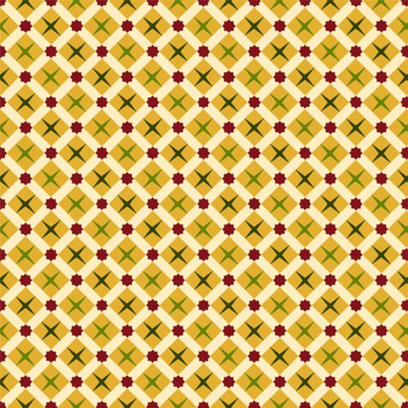 """Mi Proyecto del curso: Motivos para repetir - Diseño de estampado y etiqueta, para las cajitas de dulces árabes de la pastelería """"Salamat"""" Ü 0"""