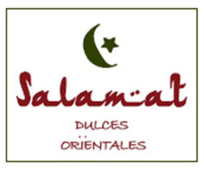 """Mi Proyecto del curso: Motivos para repetir - Diseño de estampado y etiqueta, para las cajitas de dulces árabes de la pastelería """"Salamat"""" Ü 1"""