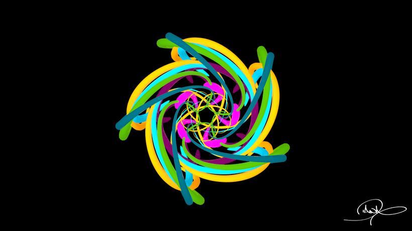 Mandala Animation 1
