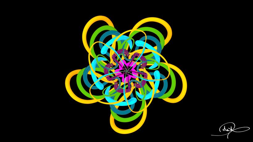 Mandala Animation 3