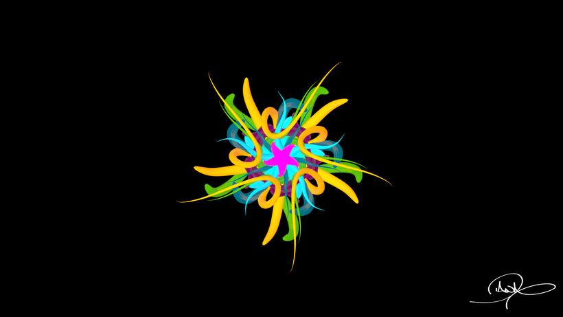 Mandala Animation 6
