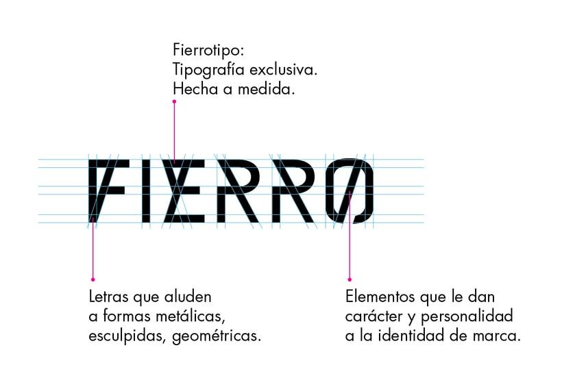 FIERRO - Diseño de marca 4