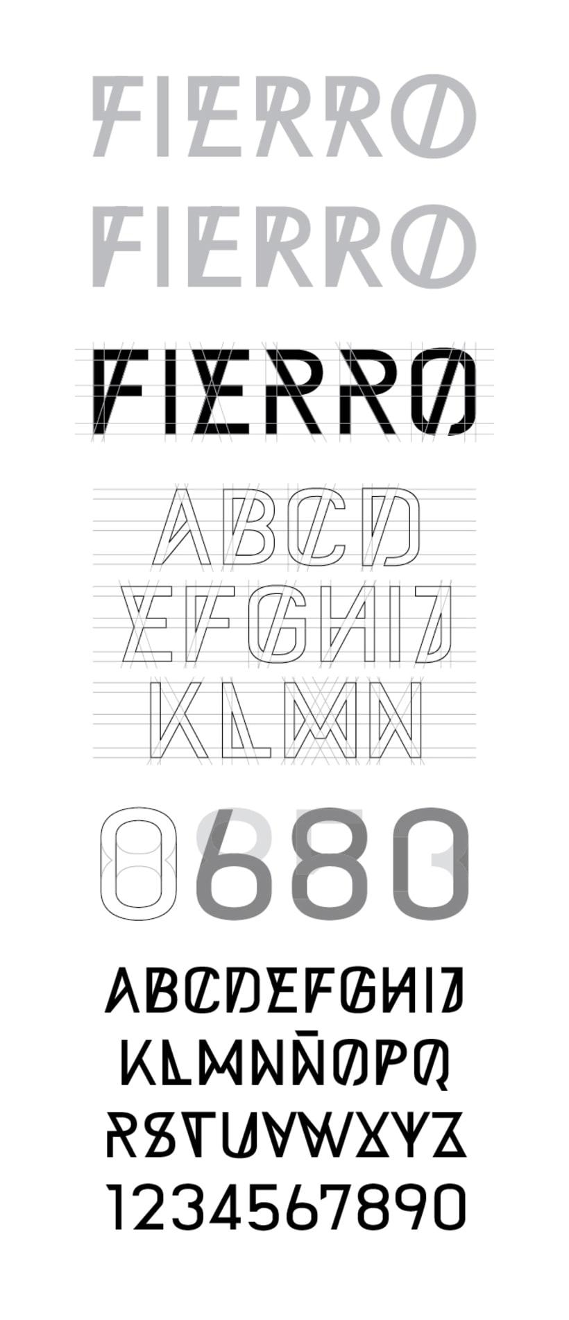 FIERRO - Diseño de marca 3
