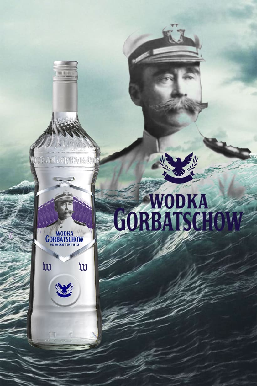 Diseño Wodka Gorbatschow Limited Edition  4