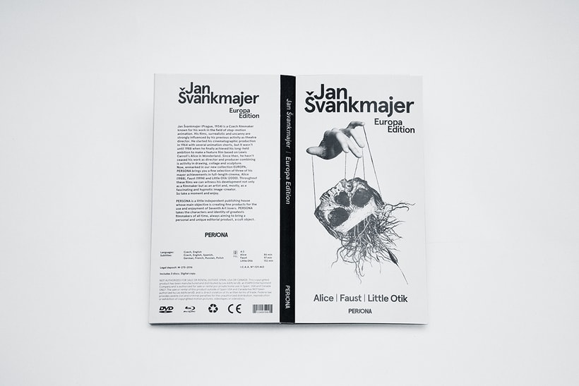 Jan Svankmajer — Special Edition 10