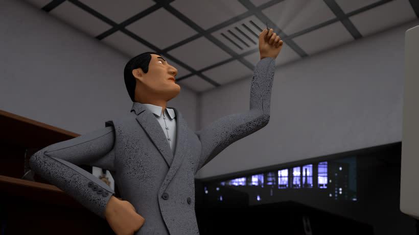 Proyecto final Máster de Diseño 3D. I'm Sleepee. Render con VRay. 9