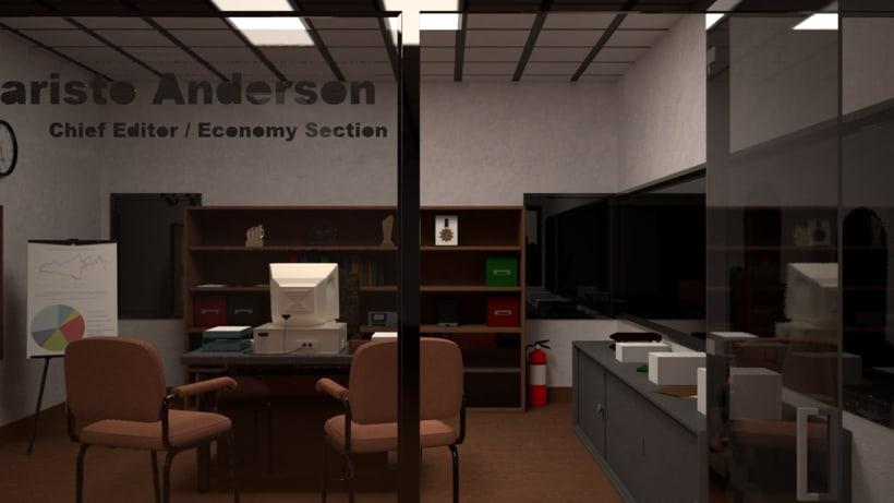 Proyecto final Máster de Diseño 3D. I'm Sleepee. Render con VRay. 4