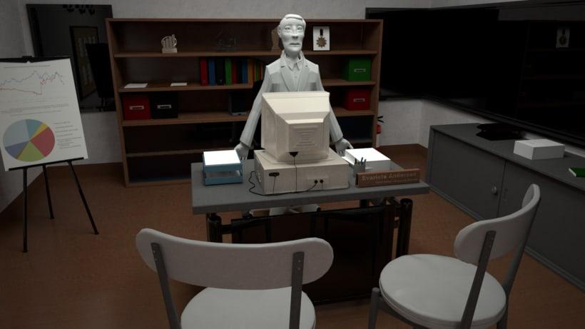 Proyecto final Máster de Diseño 3D. I'm Sleepee. Render con VRay. 3